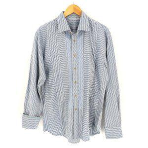 Robert Graham Long Sleeve Shirt Mens L